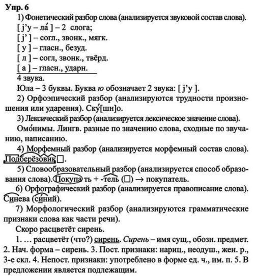 смотреть онлайн гдз по русскому языку 7 класс львова