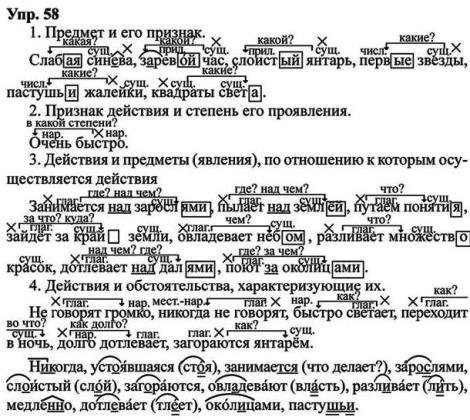 Гдз по русскому языку 8класс ладыженская